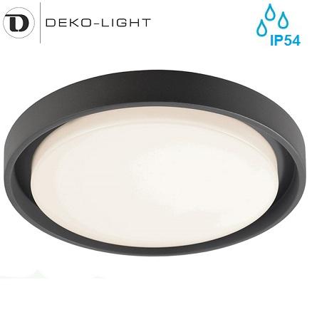 dizajnerska-vodotesna-kopalniška-led-plafonjera-zunanja-svetilka-antracitna-ip54-okrogla