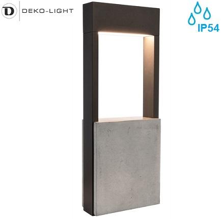 vrtni-led-stebriček-iz-betona-aluminija-450-mm