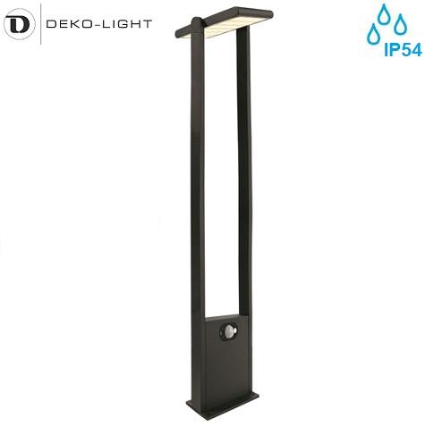 vrtni-solarni-senzorski-led-stebriček-ip65-antracit