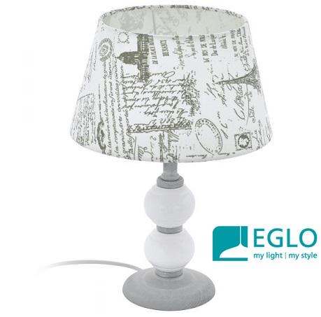 namizna-retro-vintage-svetilka-s-potiskanim-senčnikom-eglo-bela