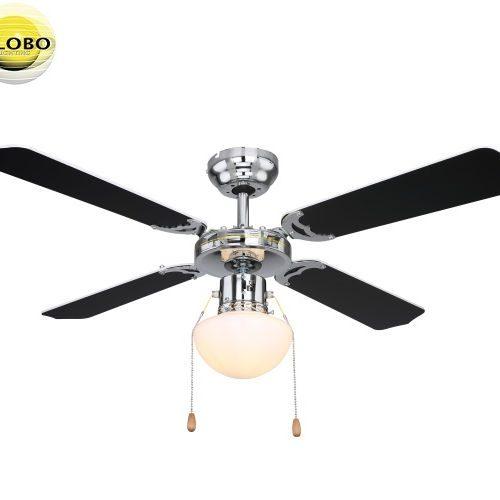 stropni-ventilator-s-svetilko-e27-globo-črni