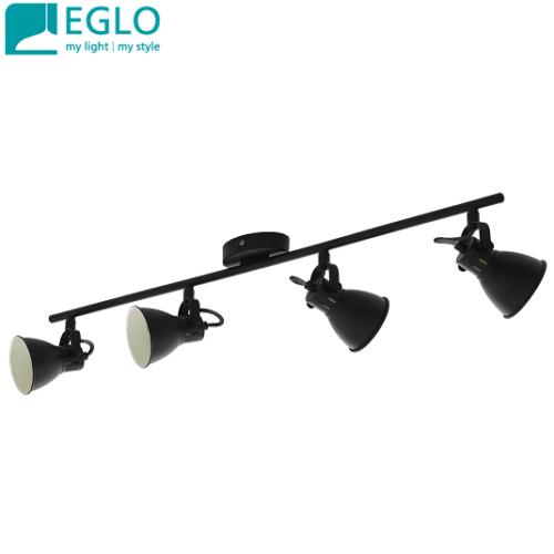 četverni-retro-vintage-spot-reflektor-gu10-eglo-črni