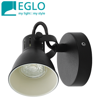 enojni-retro-vintage-spot-reflektor-gu10-eglo-črni