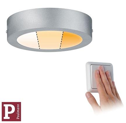 nadometni-nadgradni-okrogli-led-panel-srebrni-paulmann-z-nastavljivo-barvo-svetlobe-fi-170-mm
