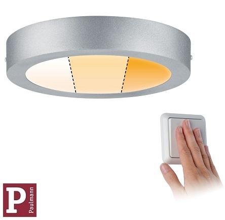 nadometni-nadgradni-okrogli-led-panel-srebrni-paulmann-z-nastavljivo-barvo-svetlobe-fi-225-mm