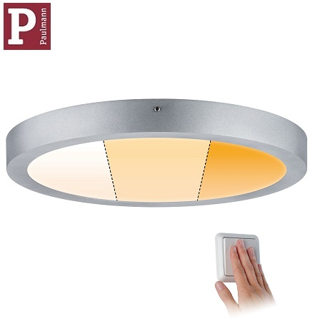 nadometni-nadgradni-okrogli-led-panel-srebrni-paulmann-z-nastavljivo-barvo-svetlobe-fi-300-mm