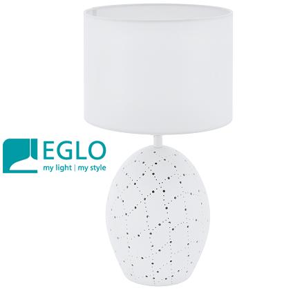namizna-keramična-svetilka-bela-eglo-svetila