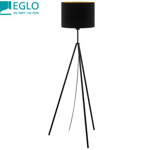 stoječa-tekstilna-dekorativna-bralna-svetilka-eglo-črna