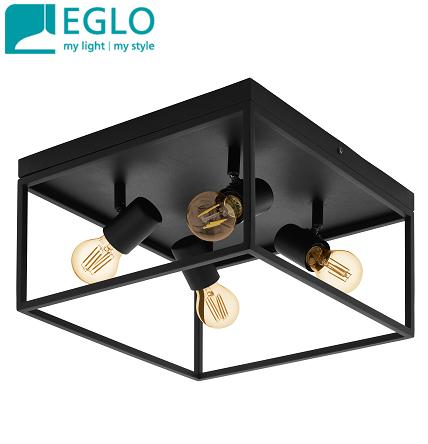 stropna-kvadratna-retro-vintage-svetilka-E27-eglo