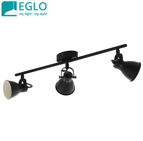 trojni-retro-vintage-spot-reflektor-gu10-eglo-črni