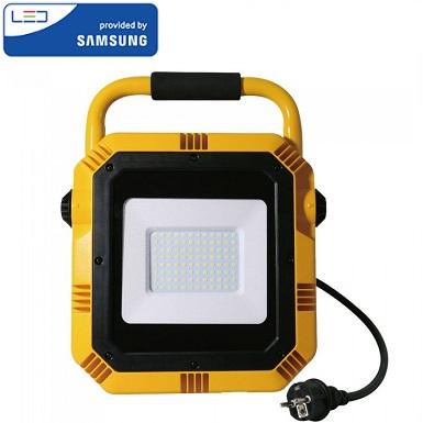 delovni-led-reflektorji-na-stojalu-samsung-ip65