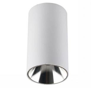 nadgradna-okrogla-spot-svetilka-gu10-bela-krom