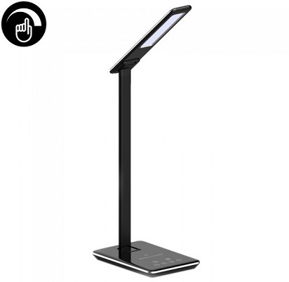 namizna-touch-zatemnilna-led-svetilka-s-polnjenjem-brezžično-telefonov-bela