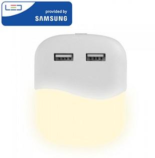 nočna-led-lučka-za-v-vtičnico-Z-USB-priklopom-SAMSUNG