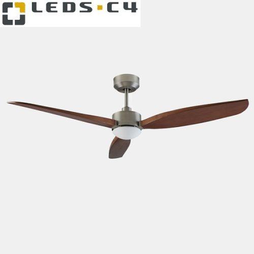 stropni-ventilator-z-led-svetilko-lesena-krilca