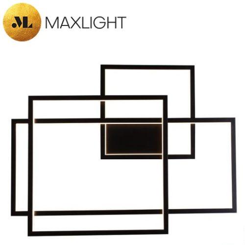 dizajnerska-stenska-led-svetilka-črna