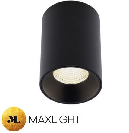 nadgradni-stropni-spot-led-reflektor-črni