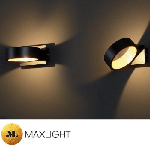 stenska-ambientalna-led-svetilka-okrogla-črna