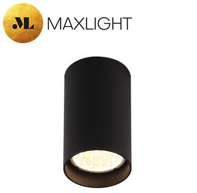 stropna-okrogla-spot-svetilka-gu10-črna