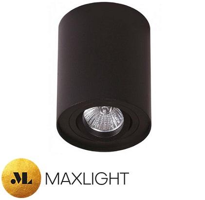 stropni-okrogli-spot-reflektor-gu10-črni