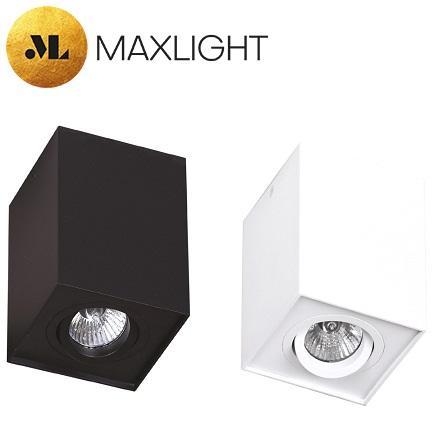 stropni-spot-reflektor-gu10-beli-črni-kvadratni