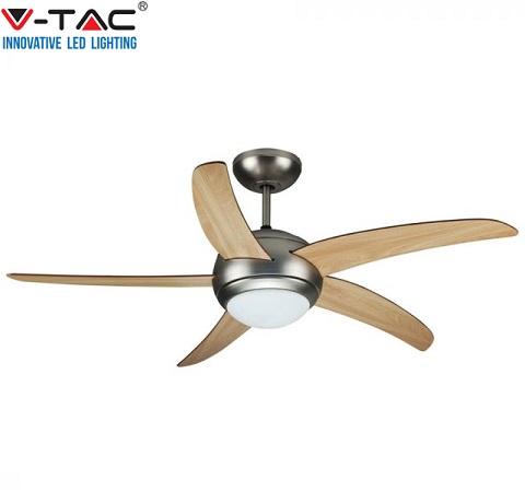 stropni-ventilator-s-svetilko-inox-rjavi-les-daljinsko-upravljanje