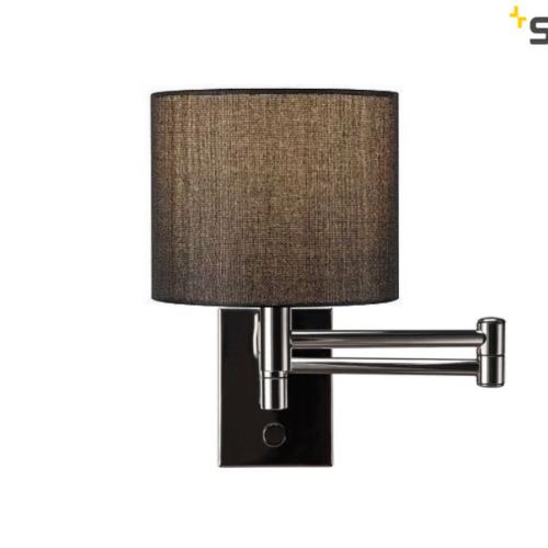 stenska-bralna-izvlečna-svetilka-s-tekstilnim-senčnikom