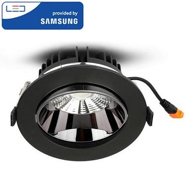 vgradna-led-svetilka-črna-10w-samsung
