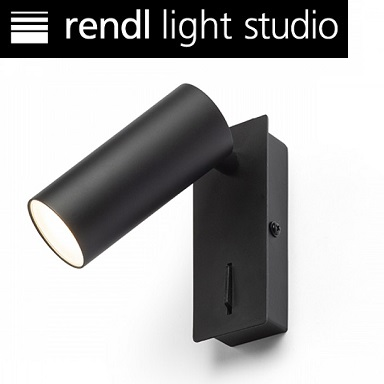 stenska-bralna-led-lučka-s-stikalom-svetilka-črna