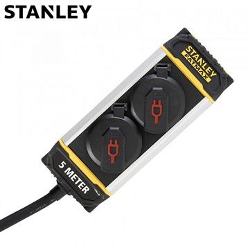 kabelski-podaljšek-profesional-ip44-stanley-z-vtičnicami