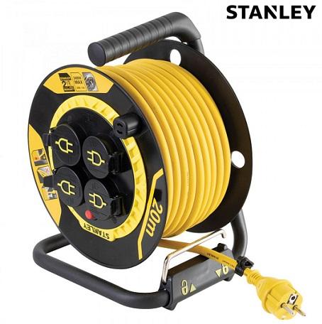 stanley-profesionalen-kabelski-podaljšek-na-kolutu-ip44