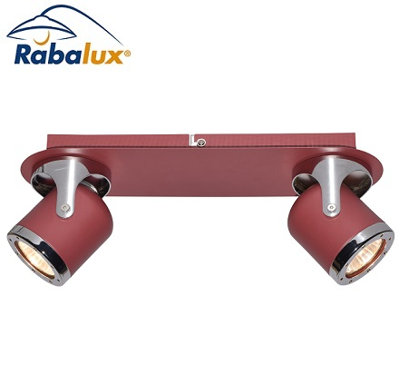 GU10-reflektor-mint-rdeči-dvojni
