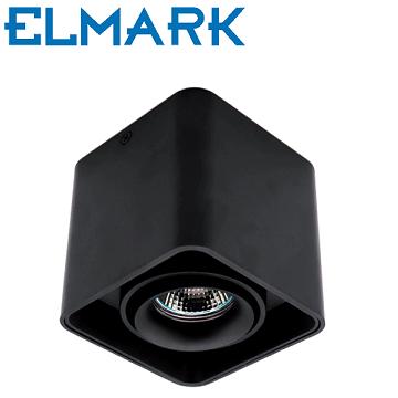 nadometna-spot-svetilka-reflektor-kvadratni-gu10-črni