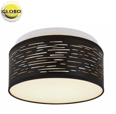 tekstilna-stropna-svetilka-260-mm-črna