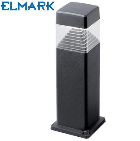 vrtni-led-stebriček-500-mm-elmark-črni