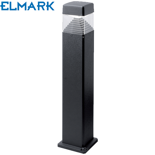 vrtni-led-stebriček-800-mm-elmark-črni