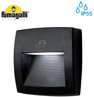 zunanja-vgradna-led-svetilka-za-škarpo-stopnice-ip55-fumagalli-črna