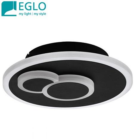 stropna-led-svetilka-plafonjera-okrogla-črna