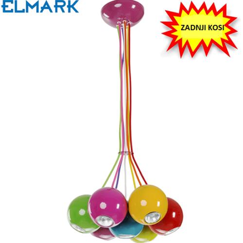 viseča-svetilka-z-bučkami-črna-elmark-večbarvna