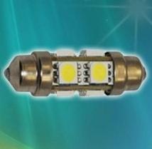 36 mm C5W/C10W/C21W/SV8.5-8/S8.5 LED SIJALKA 8 SMD 360°