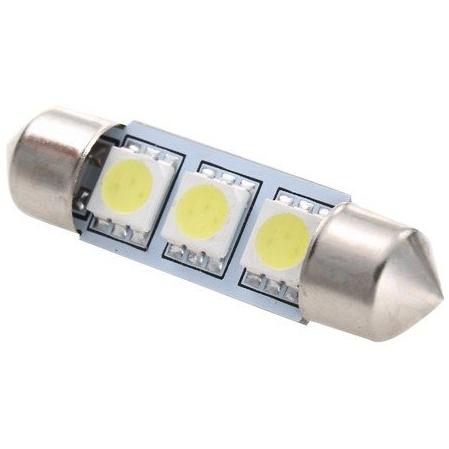 39 mm C5W/C10W/C21W/SV8.5-8/S8.5 LED SIJALKA 3 SMD