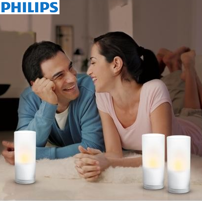 NAMIZNA AMBIENTALNA LED SVETILKA CANDLELIGHT SET 3X0,06W IP44