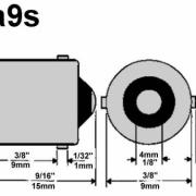 BA9S/T4W LED CANBUS SIJALKA 5 SMD