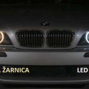 BMW LED ANGEL EYES 40W ZA E90, E91 S HALOGENSKIMI ŽAROMETI