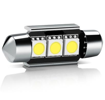36 mm CANBUS C5W/C10W/C21W/SV8.5-8/S8.5  LED SIJALKA 3 SMD
