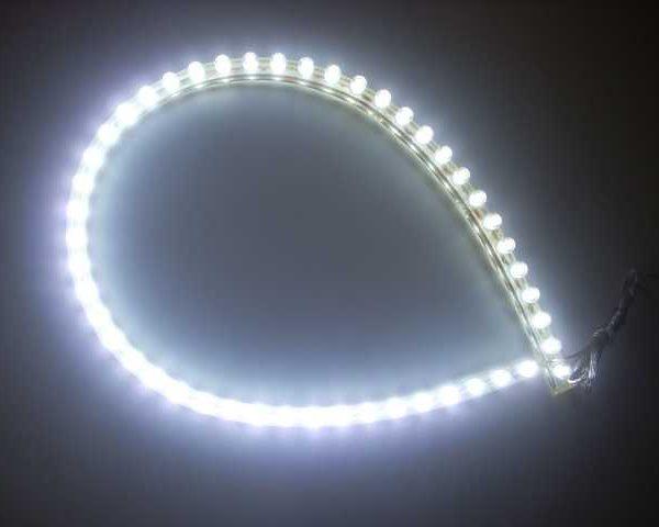 LED TRAK V GUMI 48 cm 48 FLUX LED 2,4W IP68