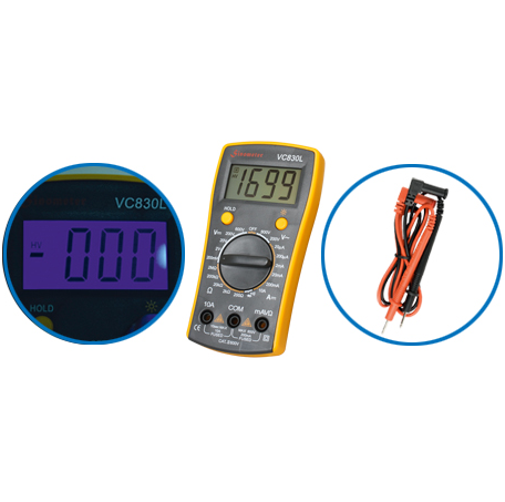 DIGITALNI MULTIMETER VC830L