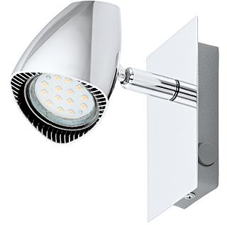 led reflektor s stikalom corbera gu10 3w 3000k spletna trgovina. Black Bedroom Furniture Sets. Home Design Ideas