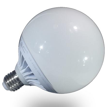 E27/G120 GLOBE LED SIJALKA fi 120 mm 17W 2700K, 4500K ALI 6400K SAMSUNG DIODE