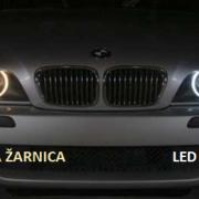 BMW LED ANGEL EYES H8 20W CREE